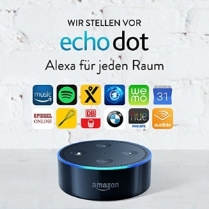 Amazon Echo Dot (2. Generation), Schwarz -