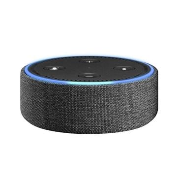 Amazon Echo Dot-Hülle (nur für Echo Dot 2. Generation geeignet), Anthrazit Stoff -