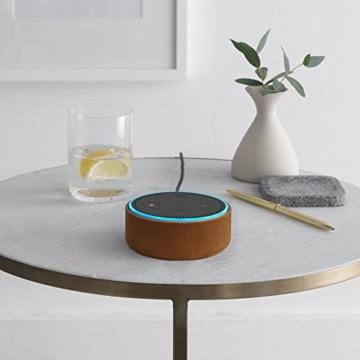Amazon Echo Dot-Hülle (nur für Echo Dot 2. Generation geeignet), Midnight Leder -