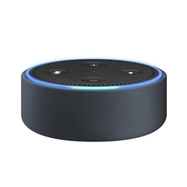 Amazon Echo Dot-Hülle (nur für Echo Dot 2. Generation geeignet), Midnight Leder -