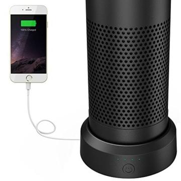Smatree AE9000 Intelligent Battery Base9000mAh für das Amazon Echo (Nicht für Echo Dot)-Schwarz -