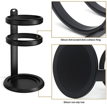 Smatree Aluminium Lautsprecher Schutz Standplatz für Amazon Echo mit Silicon Line und No-Slip-Ring (Echo und AE9000 sind nicht enthalten) -