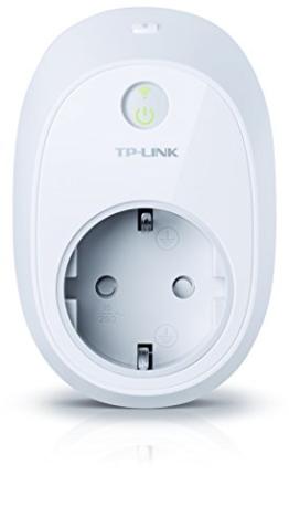 TP-Link HS110(EU) intelligente WLAN Steckdose (mit Verbrauchsanzeige, funktioniert mit Amazon Alexa [Echo, Echo Dot], mit App Steuerung überall und zu jeder Zeit) -