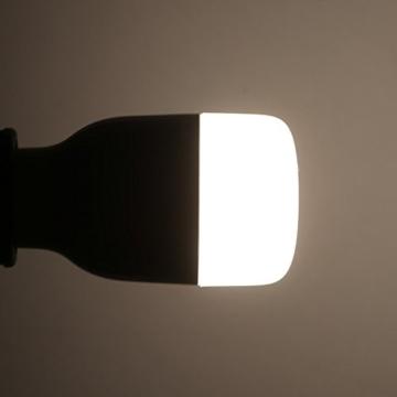 Ollivan®Original Xiaomi Yeelight Smart Nachttischlampe -LED Lampe Birne Lichtsteuerung - Leuchtdichte verstellen -mit WIFI und APP Ferndatenverarbeitung (weiß) -