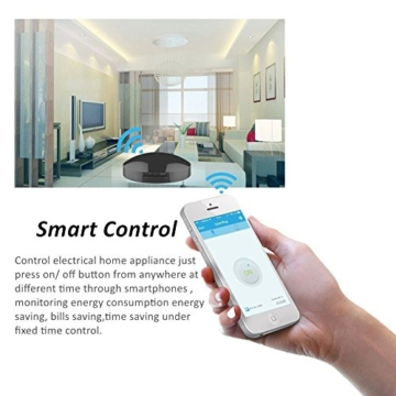 RM Pro Wifi Smart Home Universal Infrared Remote Control Intelligent Appliances Automation Radio Frequency Compatible For iPhone Android Smartphones Anywhere Anytime, IR+RF Under 2.4GHZ -
